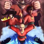 Xiaolin Dragons-in-Training by emtem