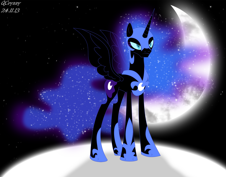 Nightmare Moon by QCryzzy