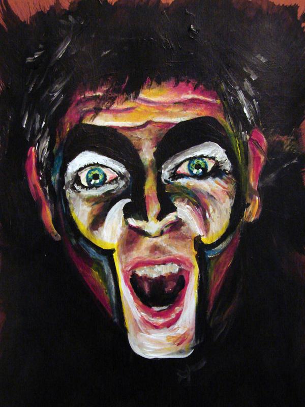 Peter Gabriel by rudhthoronwen