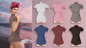 EVE Turtleneck Mini Dress