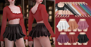 EVE Ruffles Set