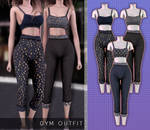 Gym Outfit 1   TS4