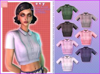 TS4 | Evy Cotton Blouse
