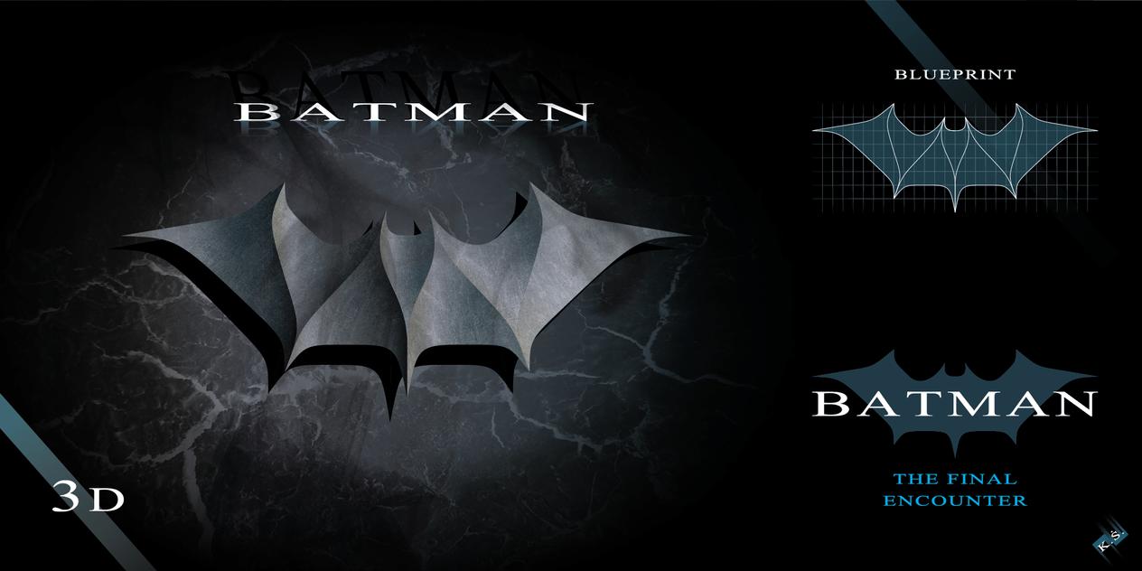 BATMAN - symbol by model850