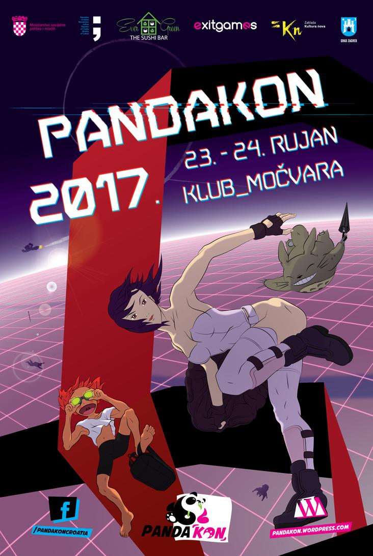 PANDAKON 2017 - poster by model850