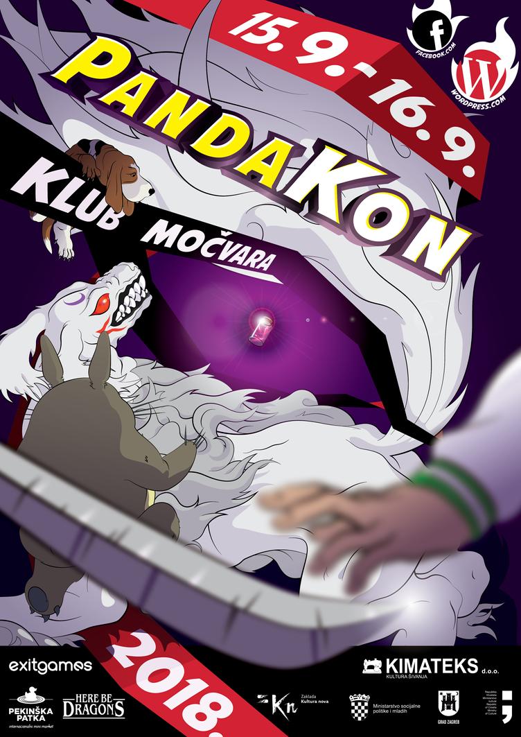 PANDAKON 2018 - poster by model850