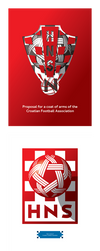 Croatian Football Federation - new coat of arms by model850