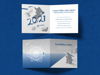 UNIZD - holiday card 2020. (ver. 1)