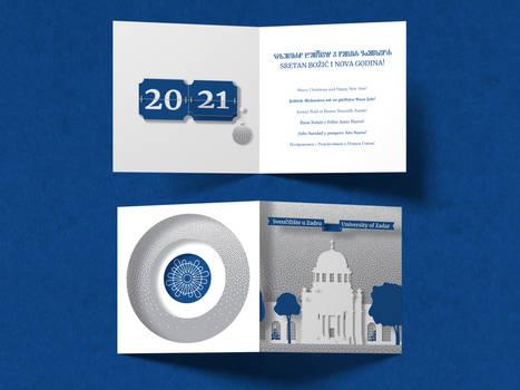 UNIZD - holiday card 2020. (ver. 2)