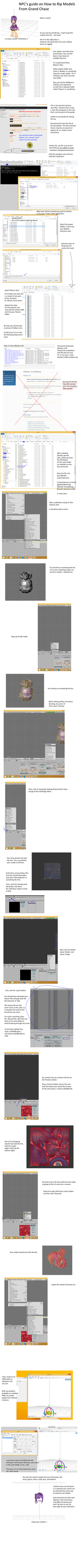 How to Rip Models from Grand Chase by NPCZero