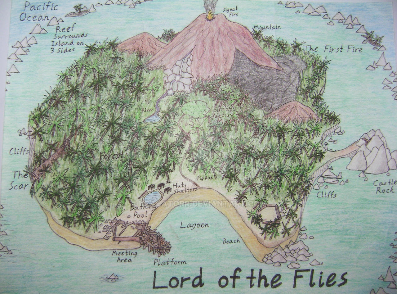 Lord of the Flies Island by Kracatorr on DeviantArt