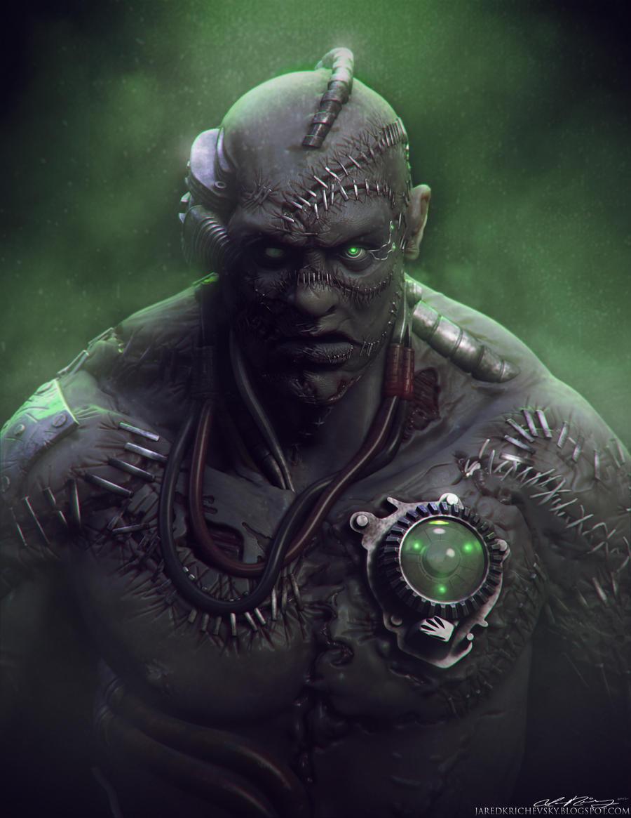 Frankenstein's Monster by crackfiji42 on DeviantArt