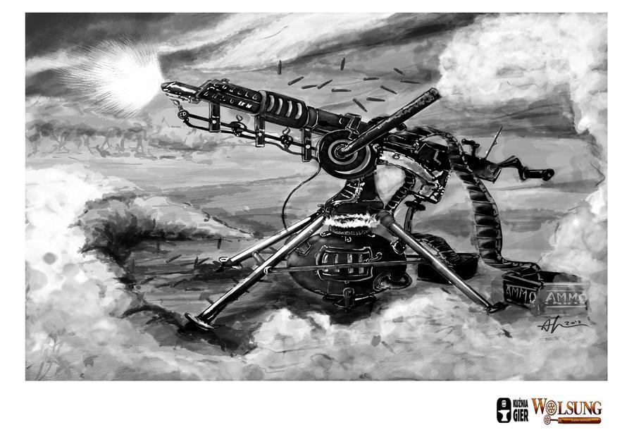 steam machine gun
