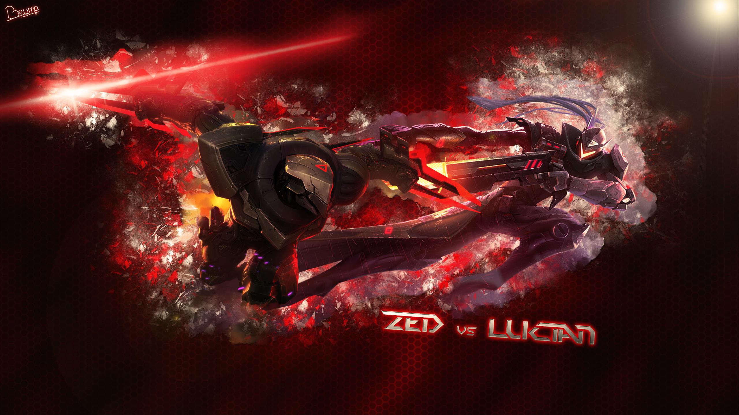 Lucian Vs Zed By Brumskyy