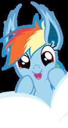 Rainbowbat - Look apples! by Magister39