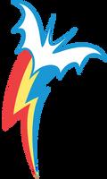 Rainbowbat Cutie Mark by Magister39