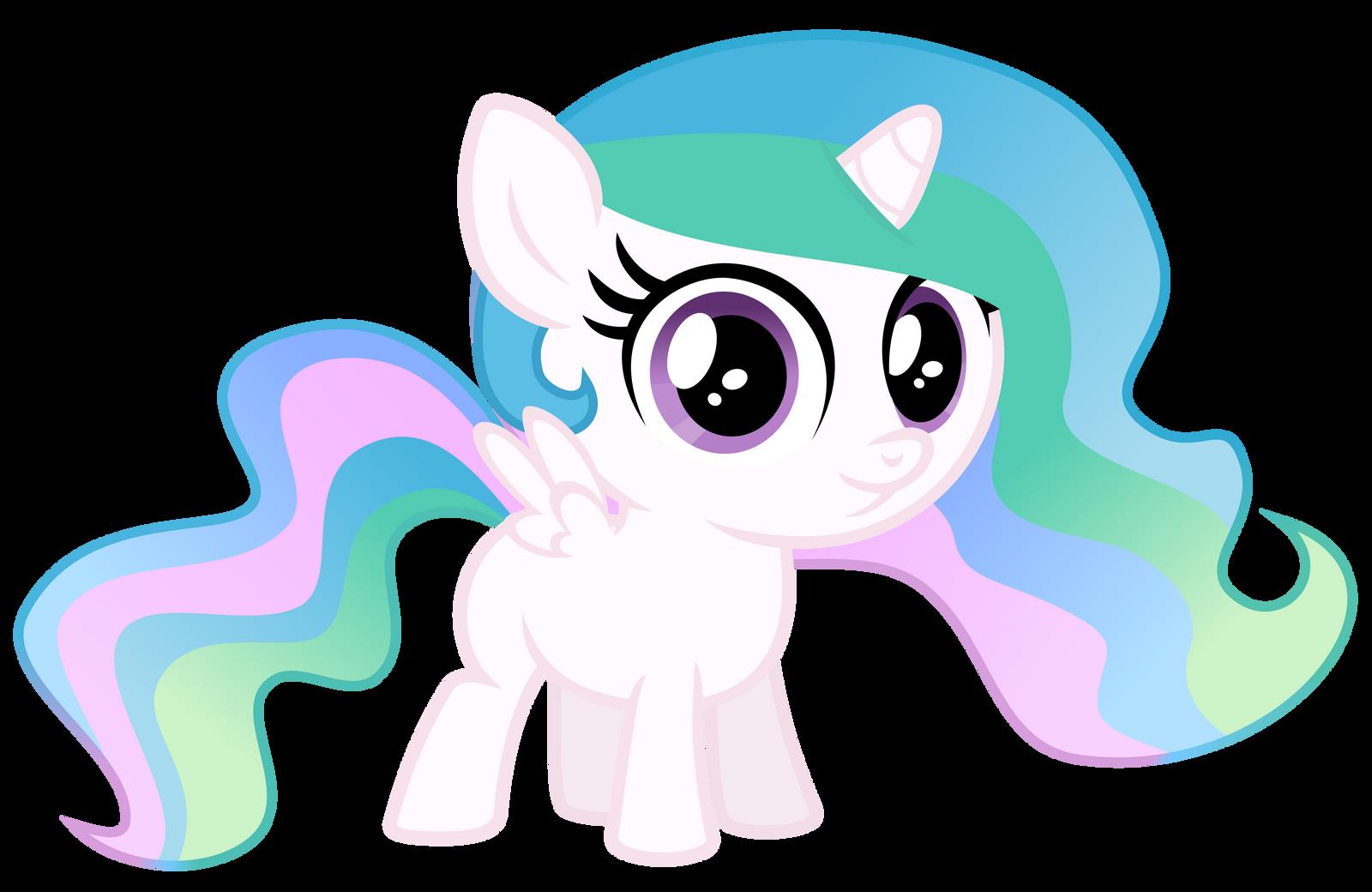 my Little Pony Filly Celestia Little Filly Celestia by