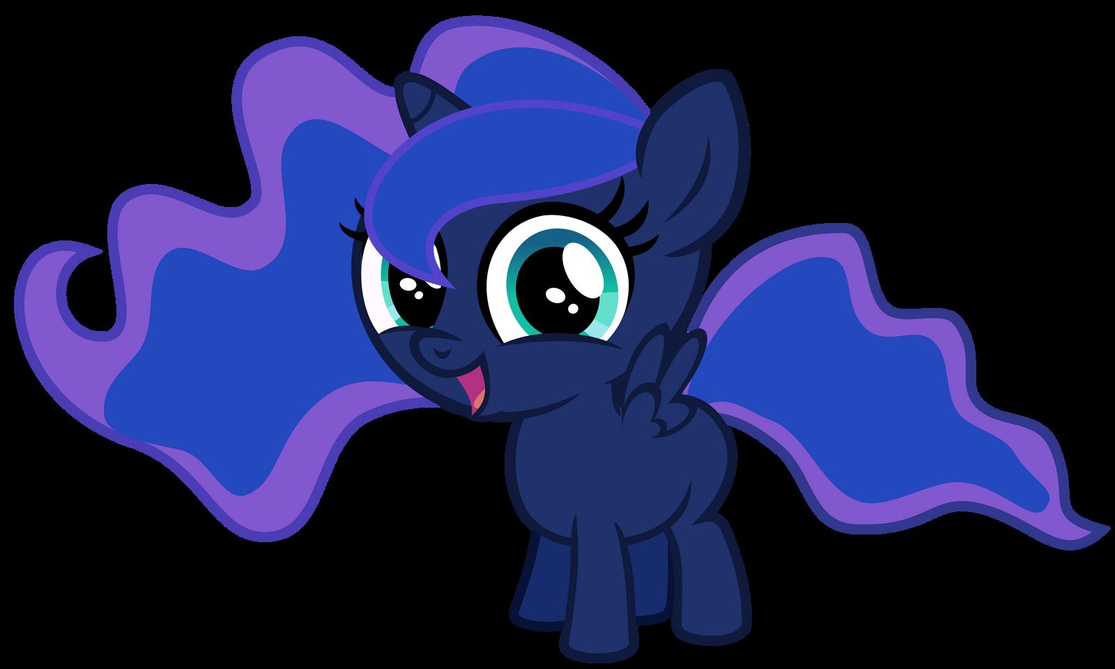 My little pony filly luna - photo#6