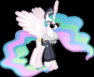 Celestia - Commander Easyglider costume by Magister39