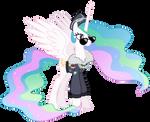 Celestia - Commander Easyglider costume