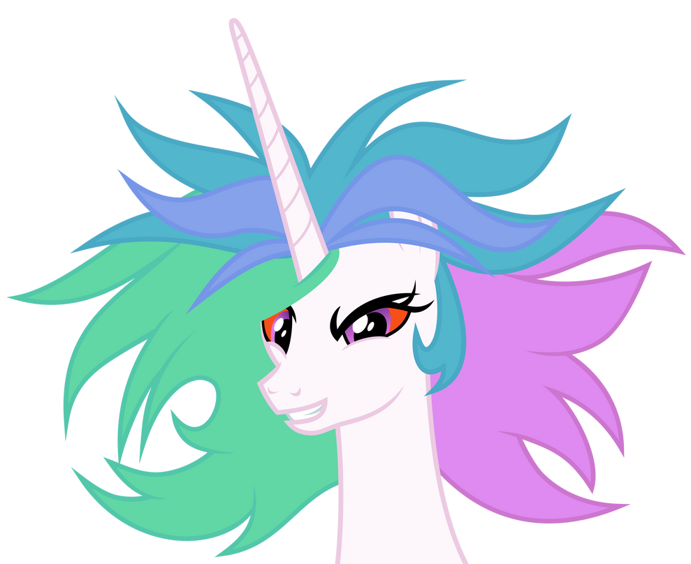 Mad Celestia by Magister39