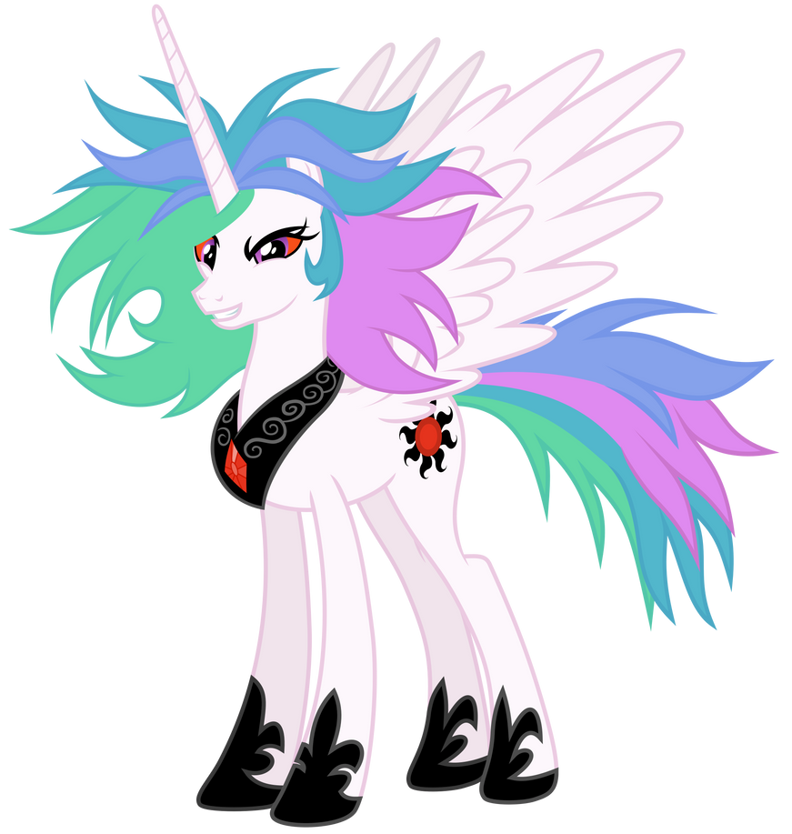 Mad Celestia - Full Body by Magister39