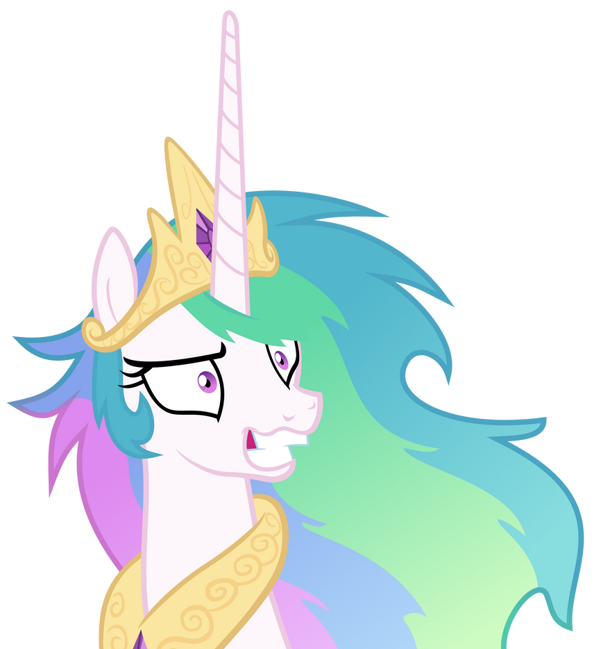 Crazy Celestia by Magister39