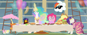 Celestia's Party by Magister39