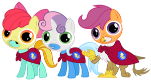 We are the Cutie Mark Crusaders!