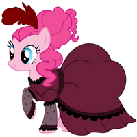 Pinkie Pie - Saloon Girl by Magister39