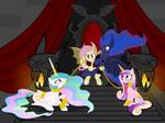 Flutterbat and her court