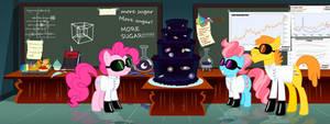 Pinkie and Infinity Cake