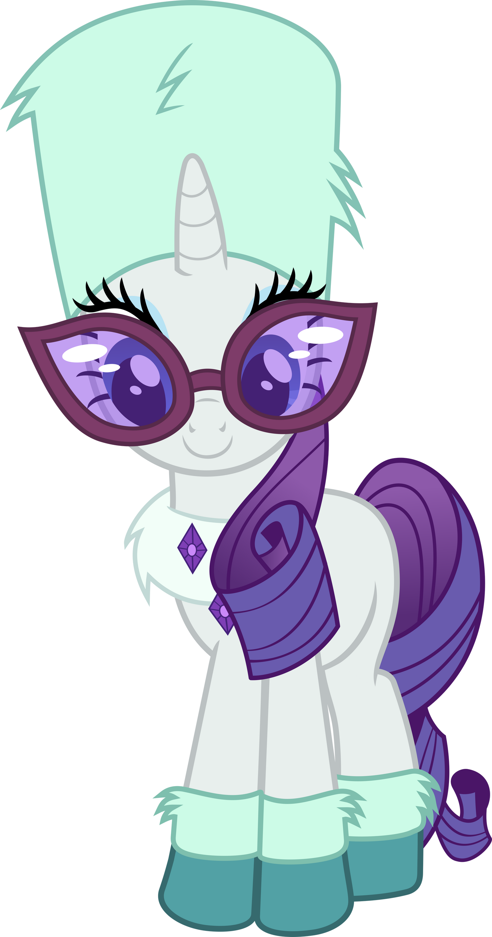 Rarity Winter Style By Magister39 On Deviantart