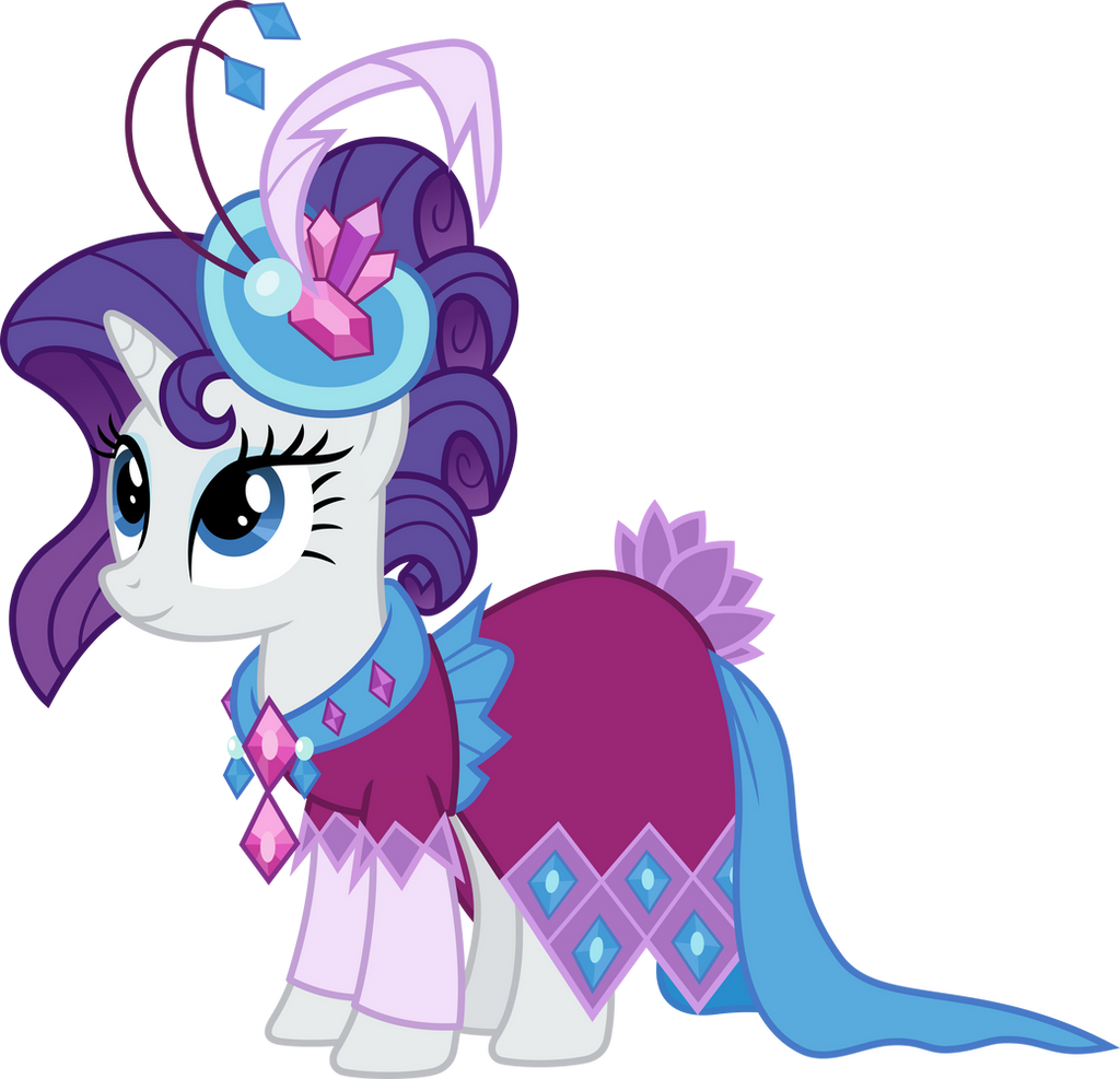 Rarity In Gala Dress By Magister39 On DeviantArt