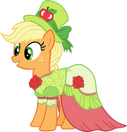 Applejack in Gala dress