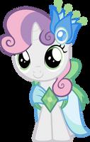 Sweetie Belle in Gala dress by Magister39