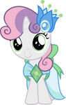Sweetie Belle in Gala dress