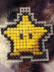 Super Mario Star Ornament