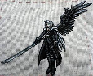 Sephiroth Cross Stitch