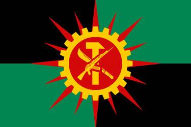 Anarcho-Revolutionary State of Nigeria by DementorFlagChamber