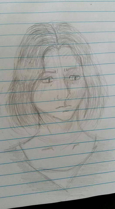 Female Face Sketch by zred99