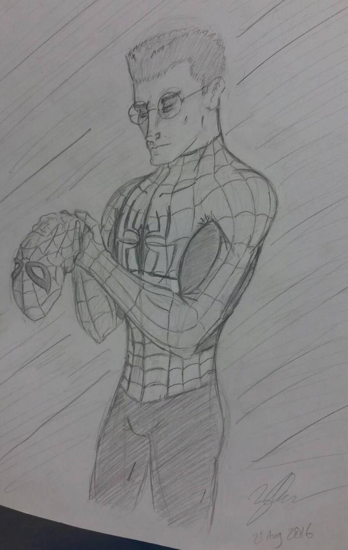 Spider-Man Sketch by zred99