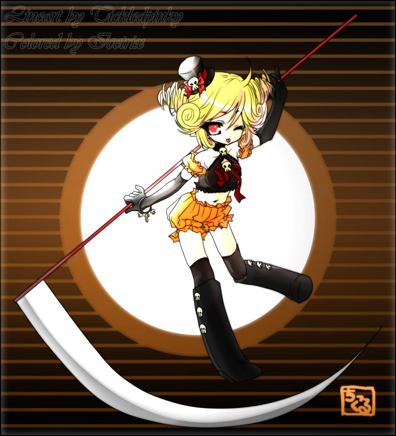 Collab: Black Tenshi-tan by Icetrix