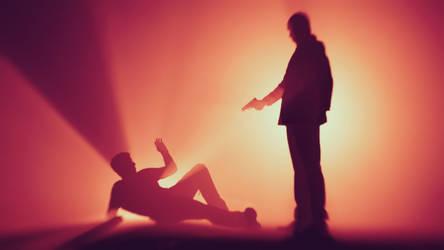 Quantum Break: Martin Hatch betrays Paul Serene by KoRRuPtNeSs