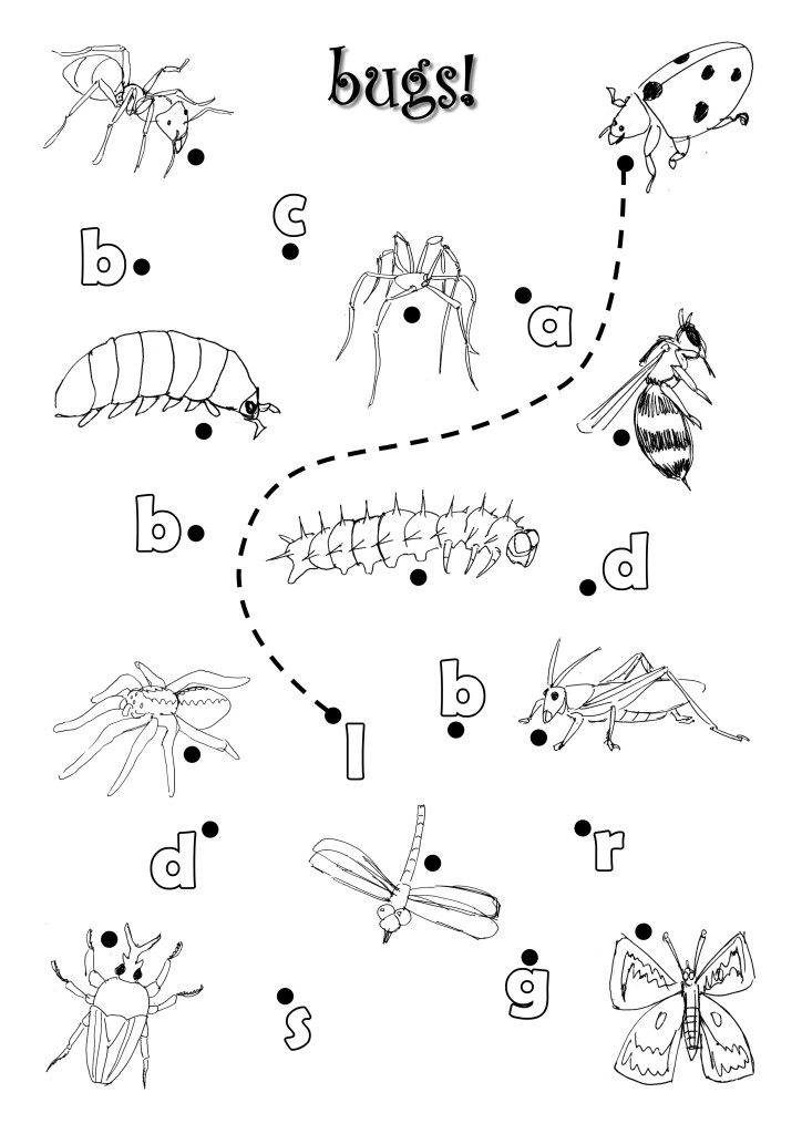 Bugs Worksheet by azamiryou on DeviantArt