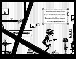 The Jabberwocky Page 3 Spread by EranFowler