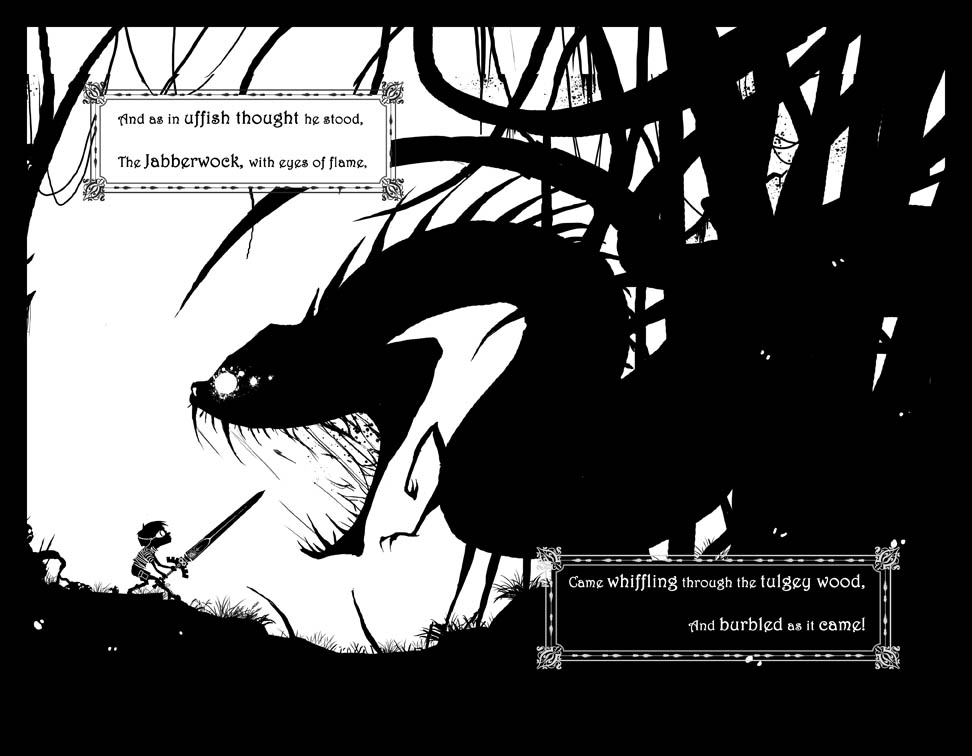 The Jabberwocky Page 8 Spread by EranFowler