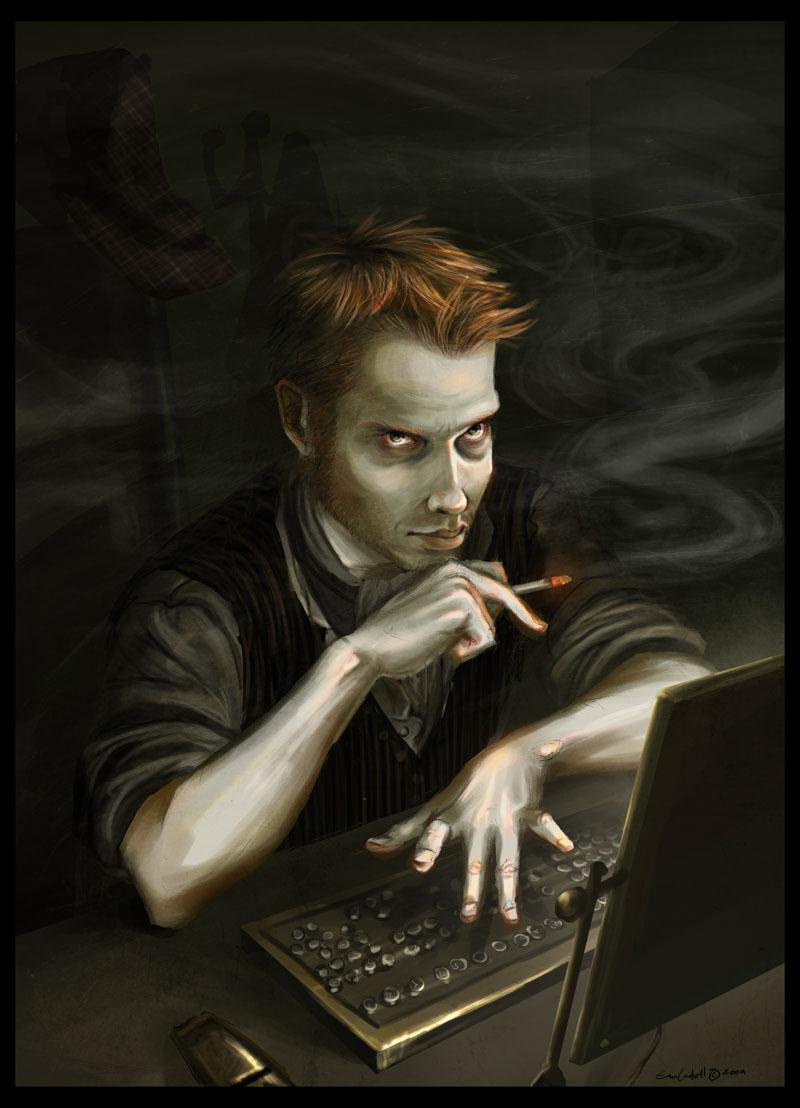 Hacker Holmes by EranFolio