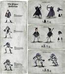 Plague Hunter Character Charts