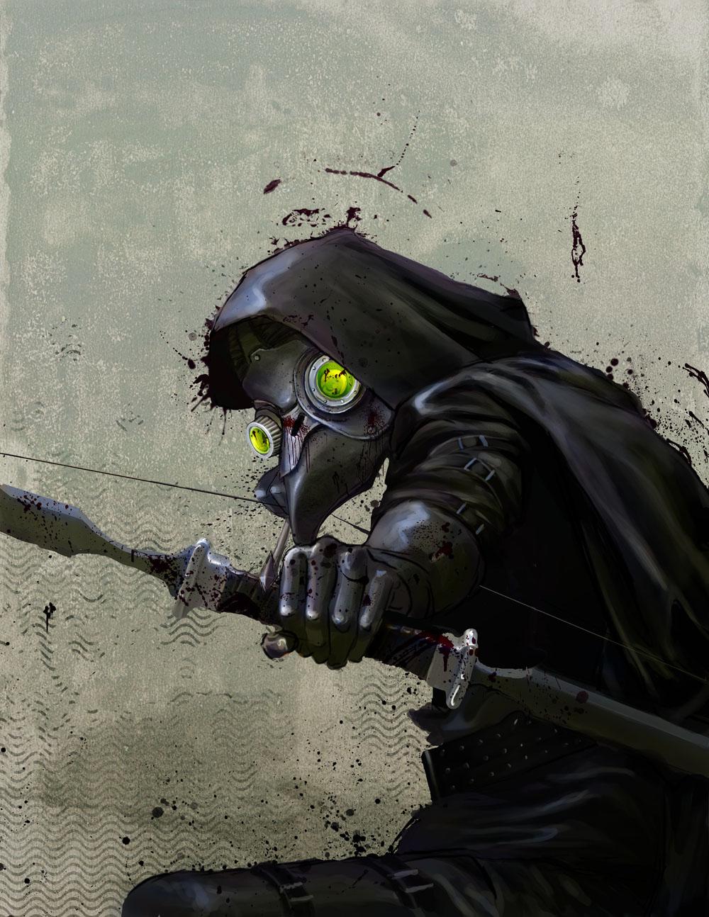 Plague Hunter II by EranFolio